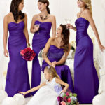 Long sweetheart bridesmaid dresses uk