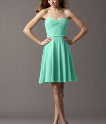 Mint Green Short Sweetheart Summer Dress