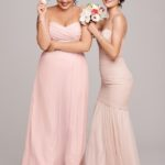 Sleeveless Blush Pink Bridesmaid Dress