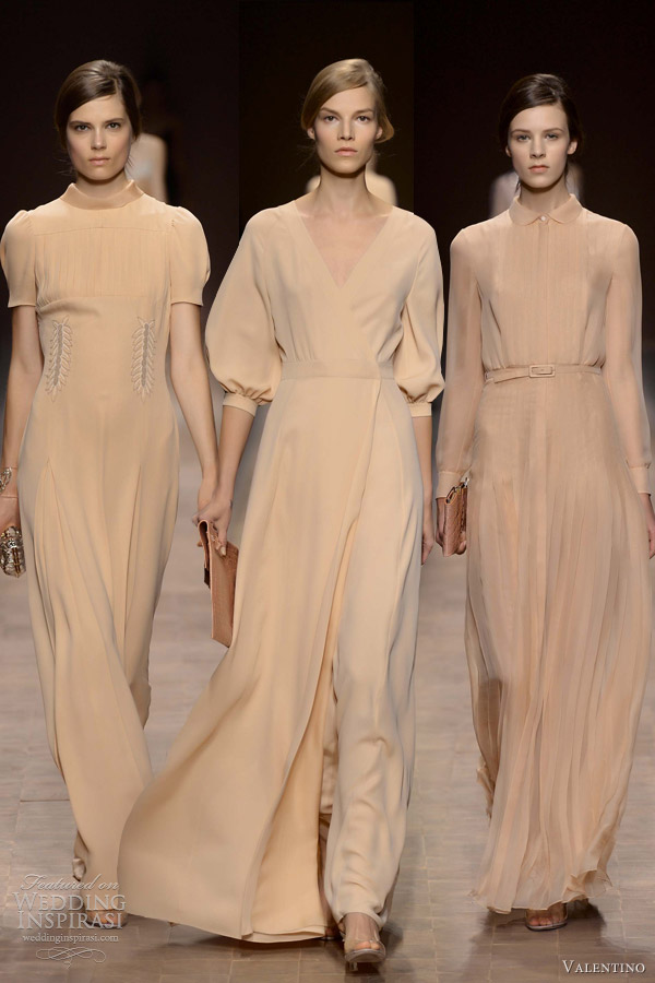 Summer modest beige bridesmaid dresses dresses with sleeves