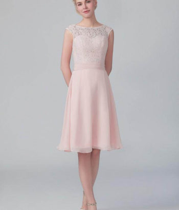 Vintage Blush Pink Bridsmaid Dress