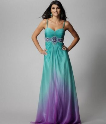 bridesmaid dresses purple and turquoise
