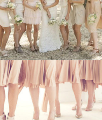 colorful shoes that go with beige bridesmaid dresses