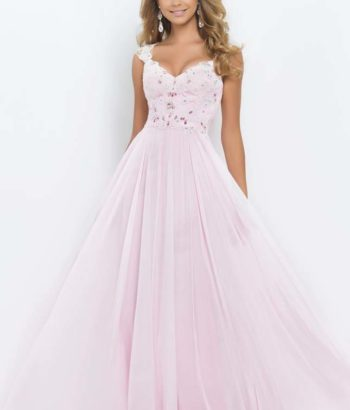 petal pink bridesmaid dresses with lace top