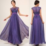 purple bridesmaid dresses 2018 new style Long