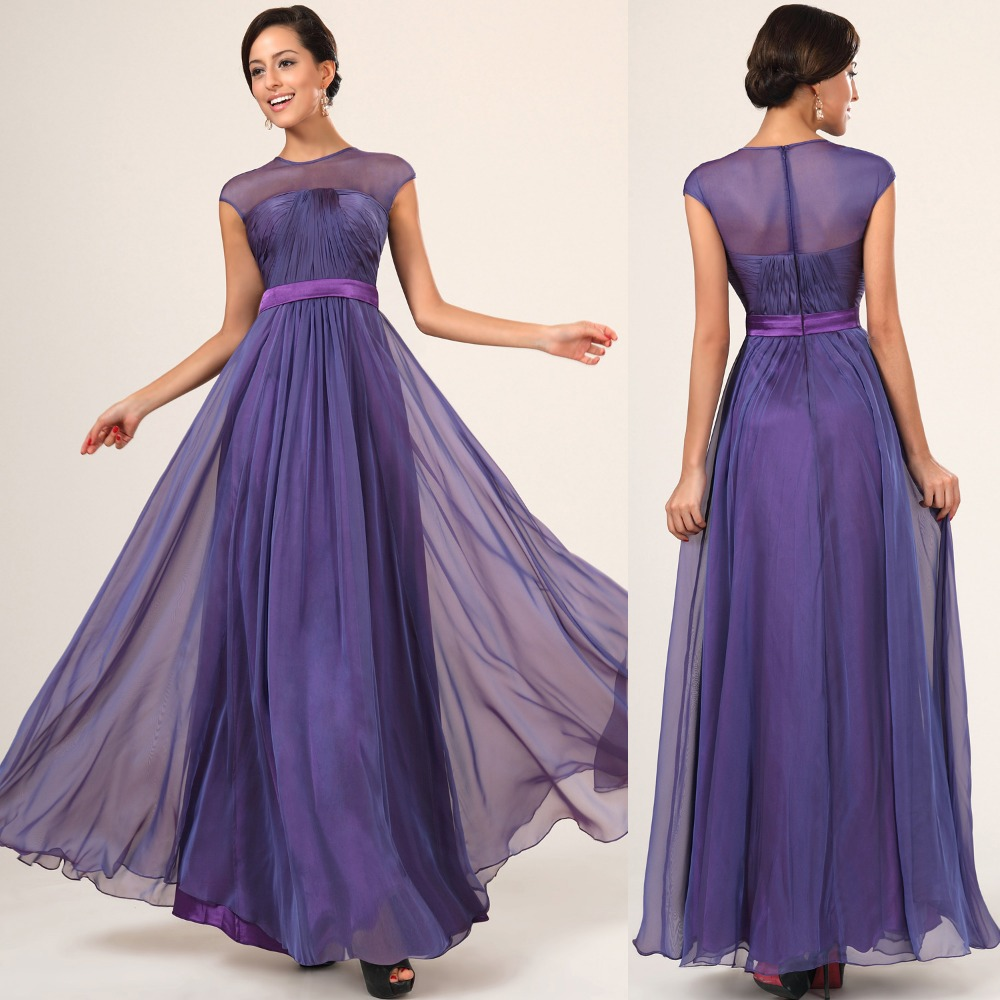 royal purple bridesmaid dresses long 2017 – Budget Bridesmaid UK ...