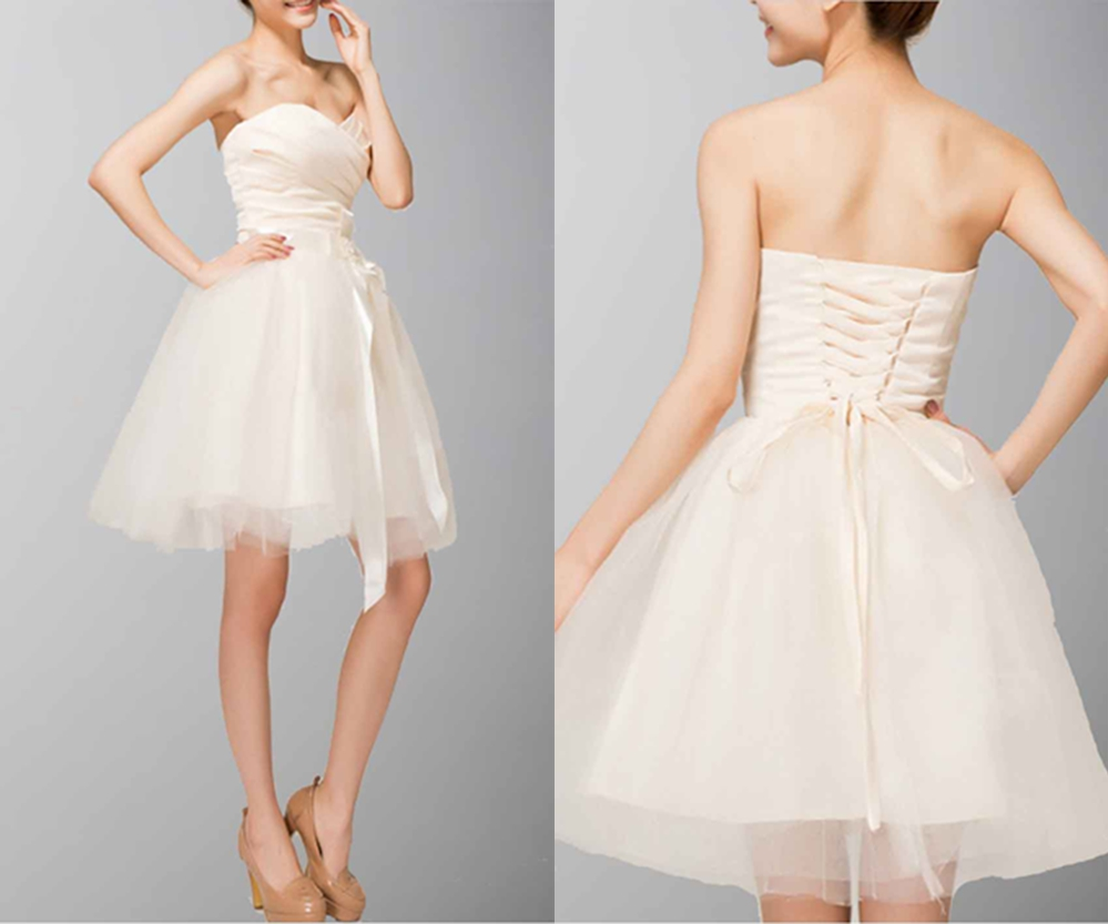 Affordable Sweetheart Neck Birthday Baby Doll Dresses