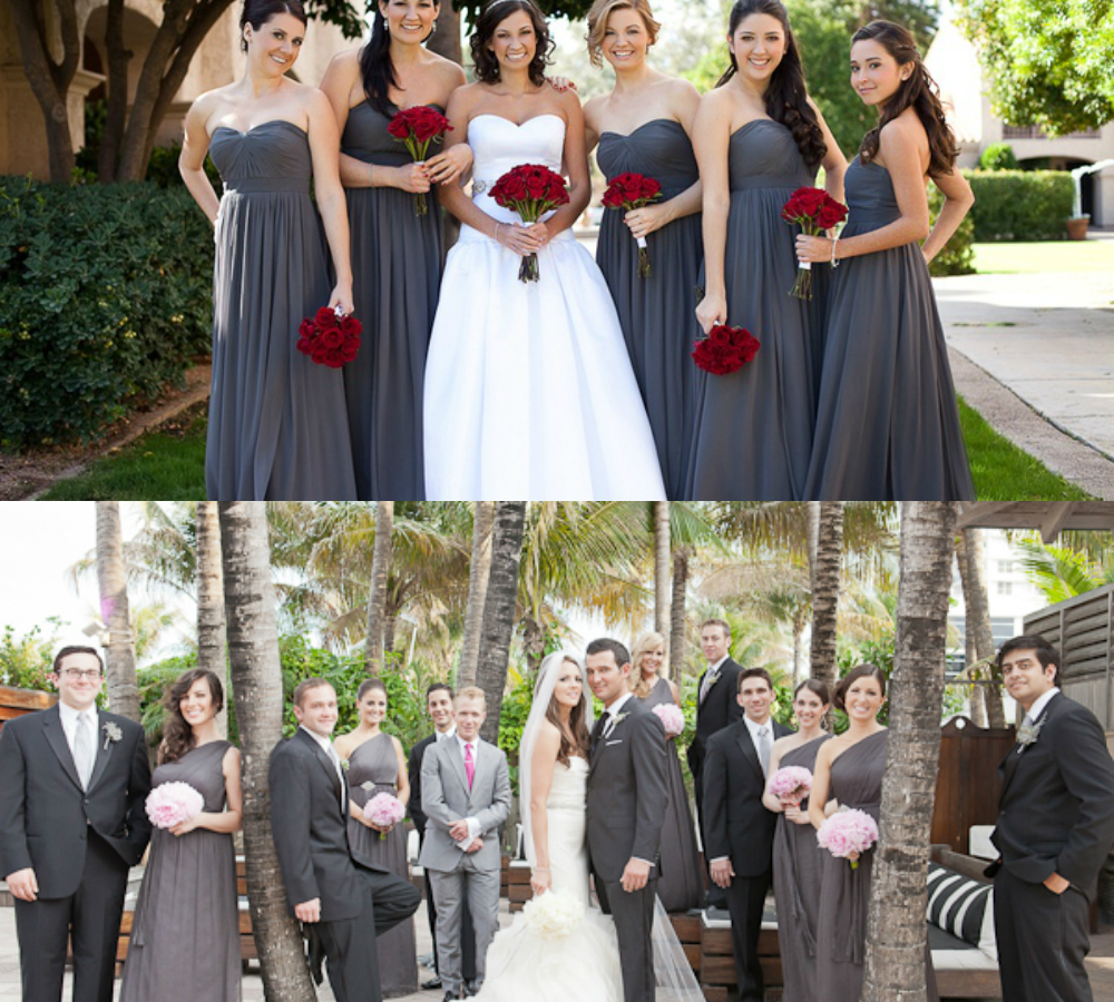 Charcoal gray bridesmaid dresses and suits 2017 budget bridesmaid charcoal gray bridesmaid dresses and suits 2017 ombrellifo Gallery