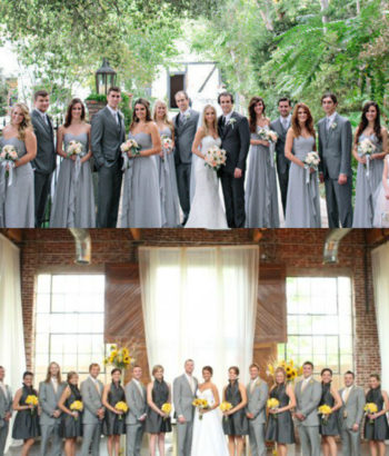dark gray bridesmaid dresses guys light grey suits