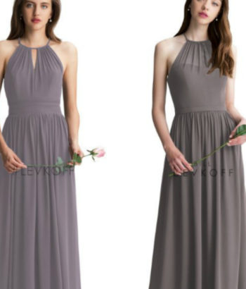 heather gray bridesmaid dresses