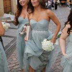 sage gray bridesmaid dresses