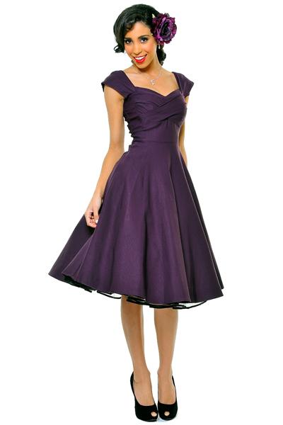 50s Style Bridesmaid Dresses Purple Budget Bridesmaid Uk