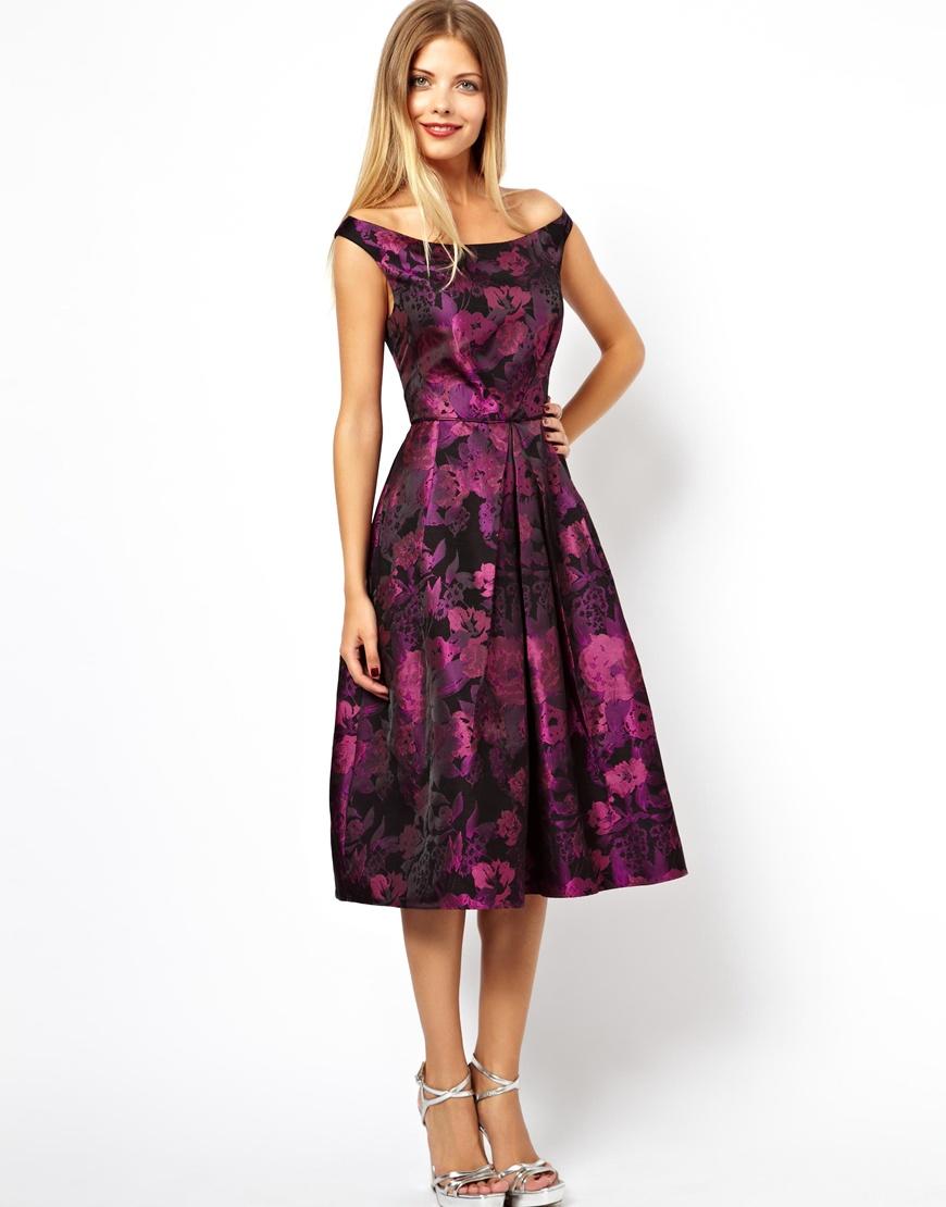 60s style bridesmaid dresses purple