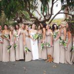 Dark beige bridesmaid dresses UK