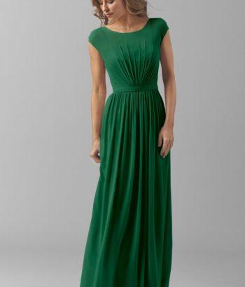 Emerald Green Mother Bridesmaid Dress Long