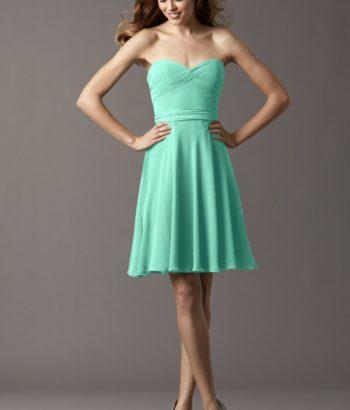 Mint Green Short Sweetheart Summer Dress
