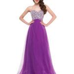 coral and dark purple bridesmaid dresses