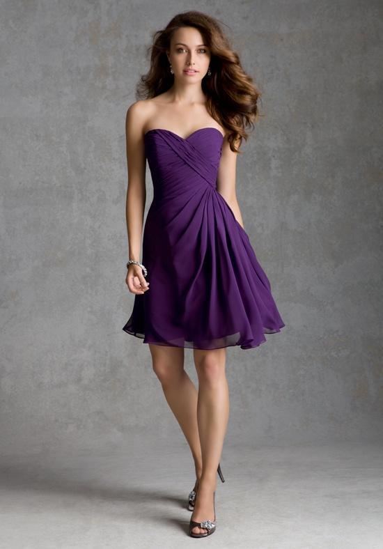dusty purple bridesmaid dresses