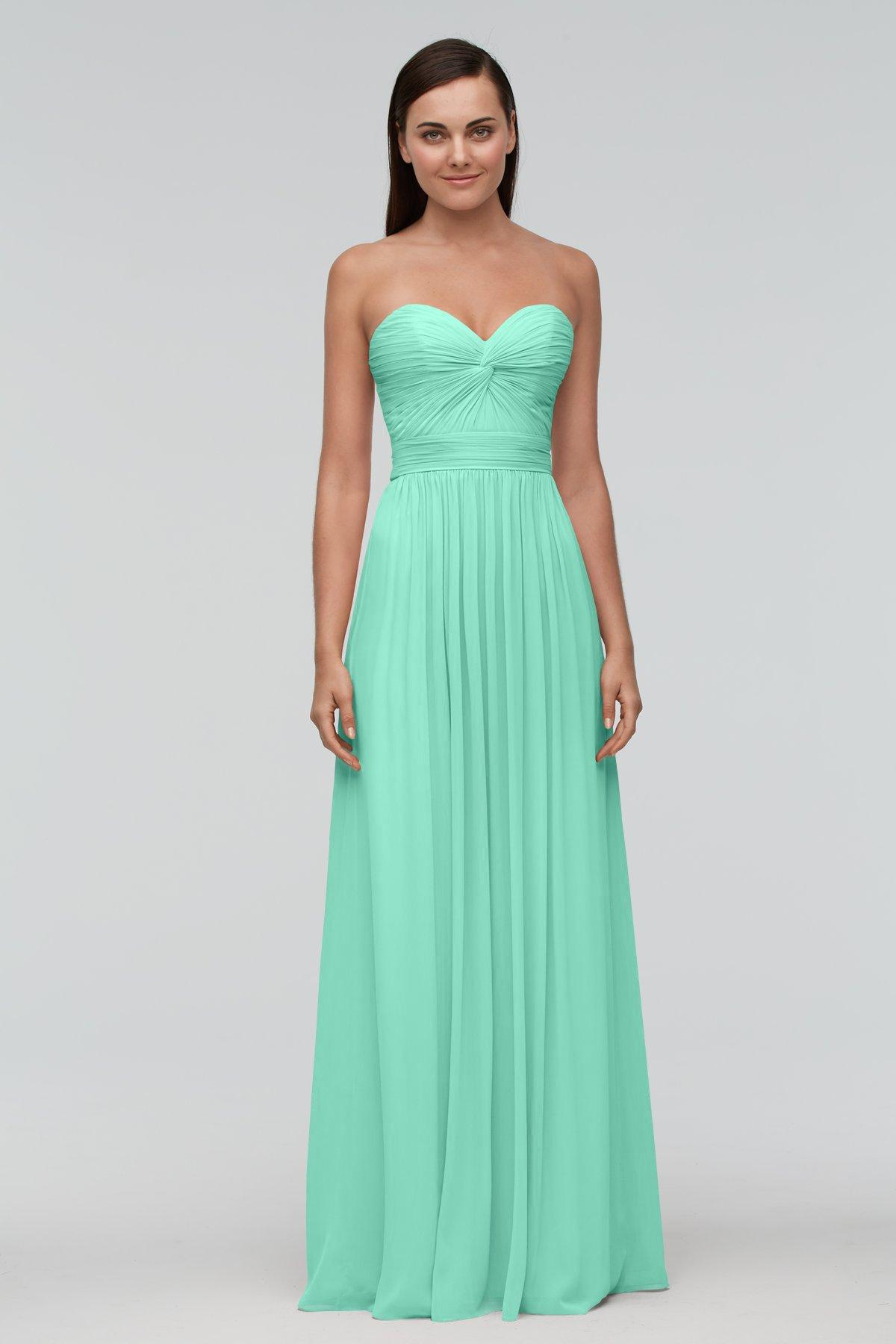 mint Aline Green Sweetheart Bridesmaid dress