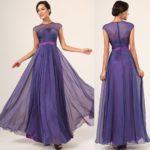purple bridesmaid dresses 2018 new style Long