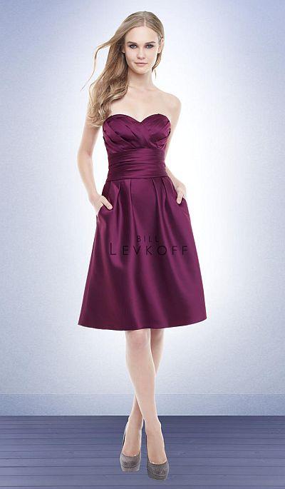 short bridesmaid dresses with pockets