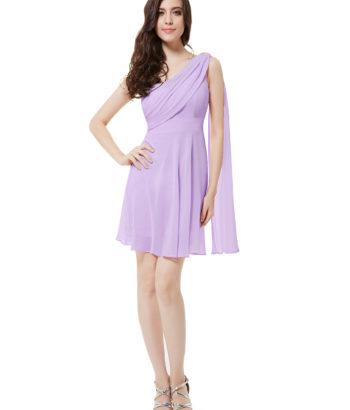 short light purple bridesmaid dresses