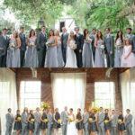 dark gray bridesmaid dresses guys light grey suits